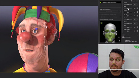 Facial animation plugin