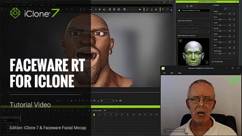 iClone Faceware Facial Mocap - Tutorials