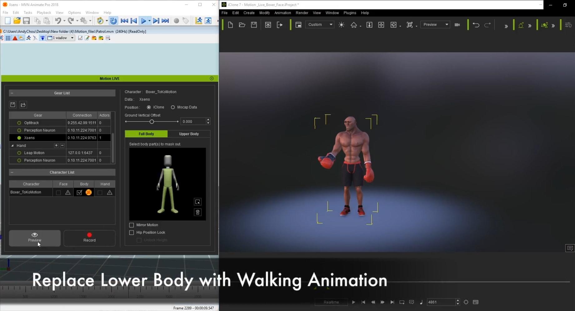 Full Body Motion Capture Animation Platform | Motion LIVE | Reallusion