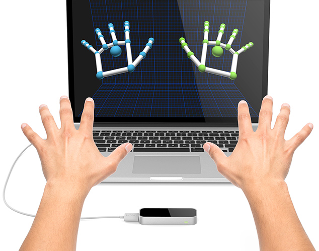 Leap Motion Controller   Motion LIVE   Reallusion