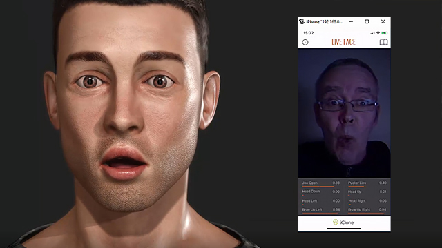 iPhone Facial Mocap | Motion LIVE | Reallusion