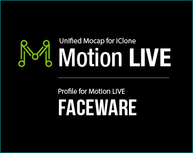 Facial Mocap for Realtime Animation - Reallusion iClone and